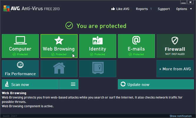 antivirus free for windows xp